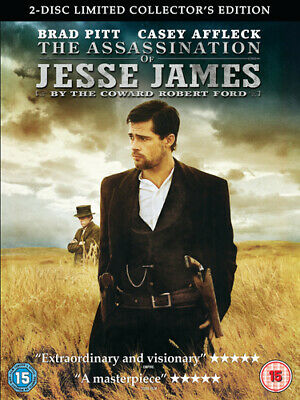The Assassination of Jesse James By the Coward Robert Ford DVD (2008) Brad Pitt