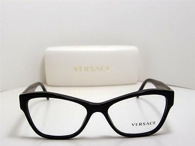 c528647a71a6 New Authentic Versace Eyeglasses VE 3180 GB1 VE3180 Made In Italy 51mm