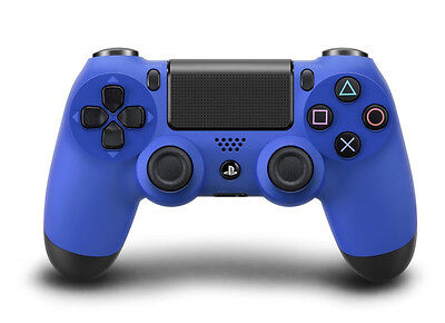 Official Sony PlayStation 4 DualShock 4 Controller (Sony PS4) Wave Blue