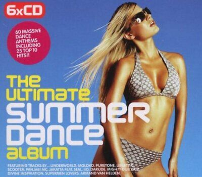 The Ultimate Summer Dance Album CD 6 discs (2003) Expertly Refurbished Product