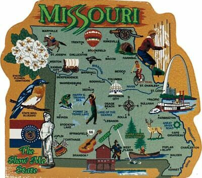 Cat's Meow Village US MAP Missouri Show Me State #RA673 NEW Ship Discounts