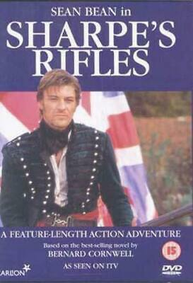 Sharpe's Rifles DVD (1998) Sean Bean, Clegg (DIR) cert 15 FREE Shipping, Save £s