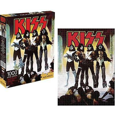KISS: Love Gun 1000 Piece 20 x 27 Inches Jigsaw Puzzle - New In Sealed Box