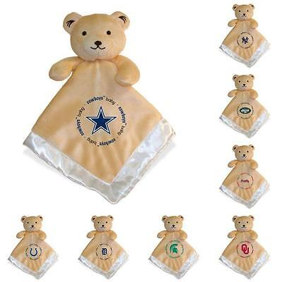 NFL Football Officially Licensed Baby Security Bear Comfort Blanket- Pick a Team