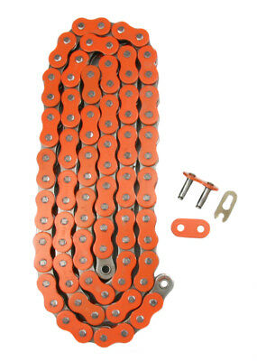 Orange 520x118 Non O-Ring Drive Chain ATV Motorcycle MX 520 Pitch 118 Links