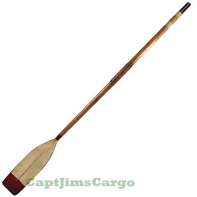 """Oxford Varsity Wooden Rowing Boat Decorative Oar 93"""" Authentic Models New"""