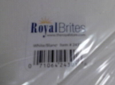 "100 ct Royal Brites 24301 22"" x 28"" 22""x28"" White Posterboard Poster Board"