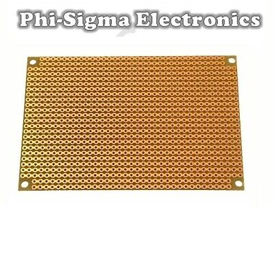 Stripboard (Vero Strip Prototyping Board) - Various Sizes  - 1st CLASS POST