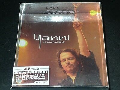 YANNI 2CD+1DVD Box Set Collector's Edition