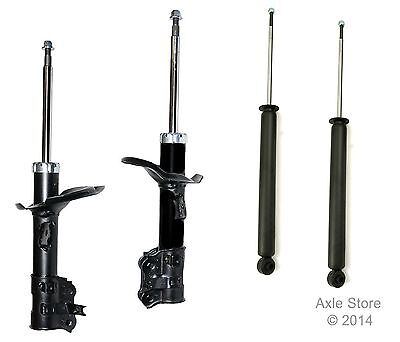4 New Struts Shocks Full Set Ltd Lifetime Warranty Fit Accent Free shipping