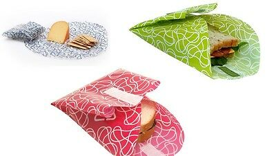 Kids Konserve Food Kozy Sandwich Lunch Wrap 2 Pack - 4 Colour choices