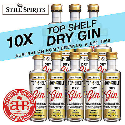 10x Still Spirits Top Shelf Dry Gin English Gin homebrew spirit essence distill