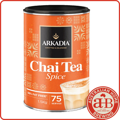 Arkadia Chai latte Spice chai powder 1.5KG Spice Chai cafe beverage tea latte