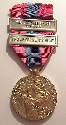 French National Defense Medal with 2 Bars
