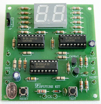 Digital 2 Digit Counter Up 0 to 99 Assembled kit Electronic For Education[FA926]