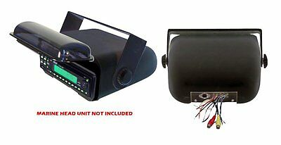 NEW PYLE PLMRCB3 Waterproof Marine CD Player/Receiver Radio Wired Housing Cover