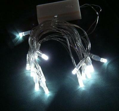 ~LED Battery WHITE 2 sets 35 Fairy/String Lights-Wedding -Free Ship from USA