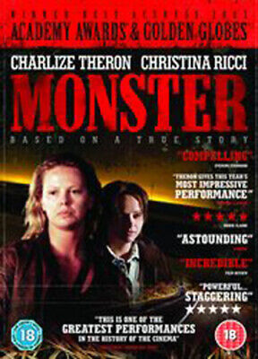 Monster DVD (2005) Charlize Theron, Jenkins (DIR) cert 18 FREE Shipping, Save £s