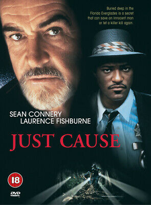 Just Cause DVD (2000) Sean Connery, Glimcher (DIR) cert 18 Fast and FREE P & P