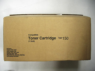 Compatible Toner Cartridge Type 150 For Use In Gestetner, Lanier, and others
