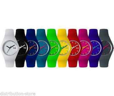 Orologio Gomma Colorato Silicone Uomo Donna Unisex Modello Ice Tondo Sport