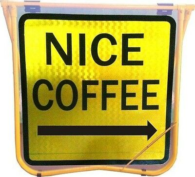 Road sign,Street sign (Nice coffee) (600mmx600mm)