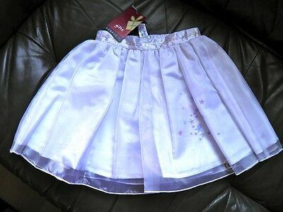 Girls Pretty Fairy White Skirt Three Layers Ages 18-24 Months 3-4 Years