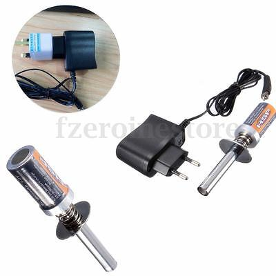 HSP RC Nitro 1.2 V 1800MAH Rechargeable Car Glow Plug Starter Igniter + Charger
