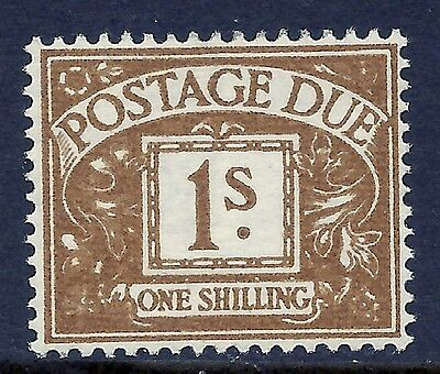 Sg D53 1/- Edward Crown Postage Due UNMOUNTED MINT/MNH