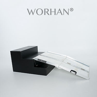 WORHAN®  122cm Mobility Scooter Wheelchair Ramp 4ft Folding Access Disabled R4