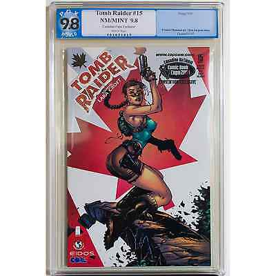 Tomb Raider #15, PGX 9.8, Canadian National Expo '01 Convention Exclusive!