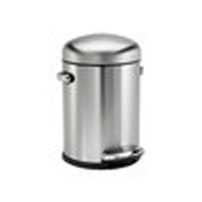 Simplehuman, Round Retro Pedal Bin, 3 or 4.5L in Colour Option finishes, CW1888