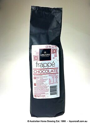 Arkadia Frappe Chocolate smoothie 4x 1kg frappe mix chocolate smoothie recipe