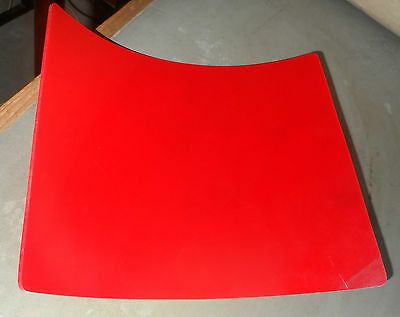 Polyurethane Sheet - 300mm x 240mm x 3mm - RED A4 SIZE FREE POST