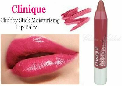 CLINIQUE Chubby Stick Lip Colour Balm 1.2g in 06 Roomiest Rose