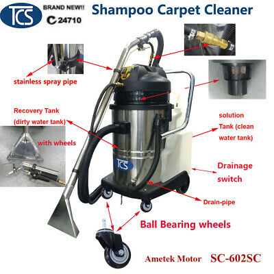 New 60L Shampoo Carpet Cleaner Shampooer Machine Upholstery Car Detailing