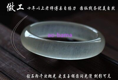 100% Pure natural Chinese jade hand-carved bracelet,beautiful bangle