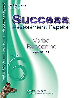 Assessment Papers - Verbal Reasoning Assessment papers 10-11, Authors, Various,