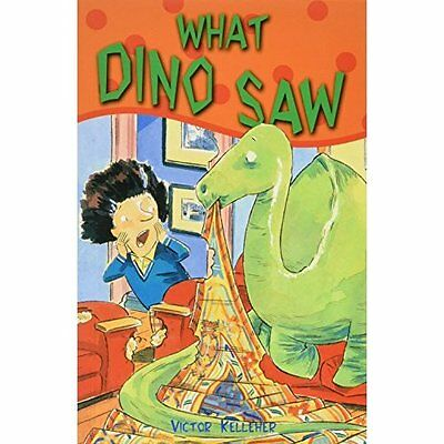 What Dino Saw (Happy Cat First Readers), New, Victor Kelleher Book