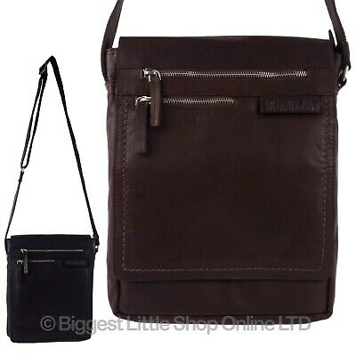 40e46f7d12 NEW MENS LADIES Buffalo Leather North South Cross Body BAG Rowallan of  Scotland