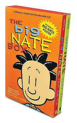 The Big Nate Box, New, Peirce, Lincoln Book