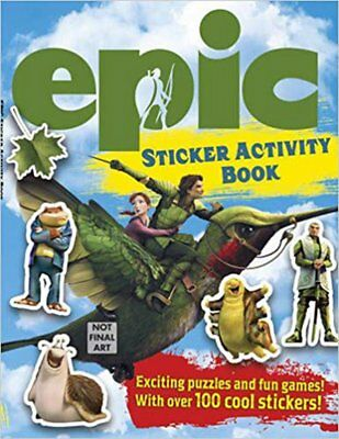 Epic Sticker Activity Book (Epic Film Tie in), New, Regan, Lisa Book
