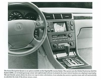 1997 Acura Navigation System Automobile Factory Photo ch5692