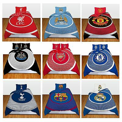 Single Double FC Duvet Cover Bedding Set Official Bullseye Football Club Designs