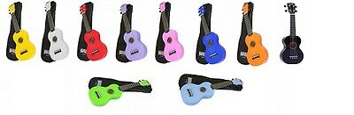 Mahalo Soprano Ukulele / Uke with free case and free delivery UK Seller