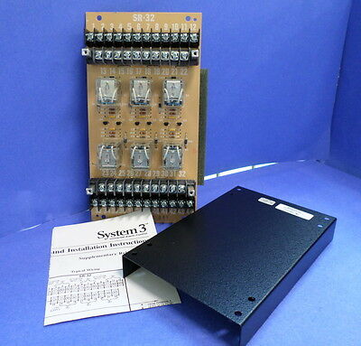 Siemens Systems 3 Supplementary Relay Module Sr-32 Nib