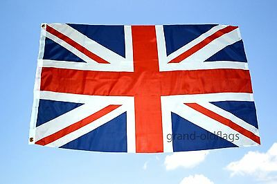 NEW 3x5 ft UK GREAT BRITAIN UNITED KINGDOM UNION JACK FLAG