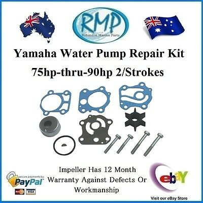 A Brand New Yamaha Water Pump Repair Kit 75hp-thru-90hp # R 688-W0078-00