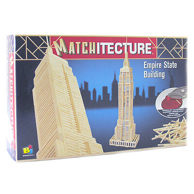 Matchitecture Empire State Building Matchstick Kit NEW