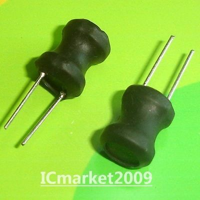 20 PCS LH0912-470M 47uH 9x12mm Radial Leaded Power inductors 47 uH 9x12 mm